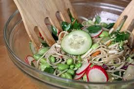 fresh recipes cold soba noodle salad a slo life