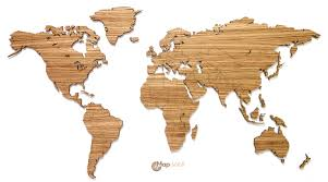 com buy wall art decal world map wall sticker globe earth wall 86 inch 3d magnetic wooden world map for pinpointing