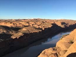 moab jeep trails hell u0027s revenge and potato salad hill trail utah maps 41