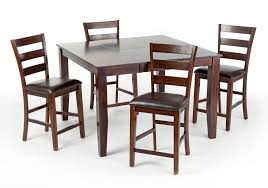 rc willey kitchen table raisin 5 piece counter height dining set kona rc willey