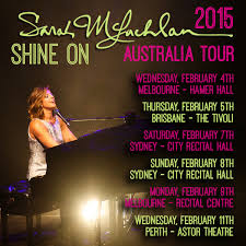 australian tour dates announced sarah mclachlan