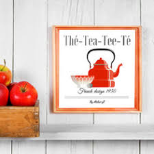 affiche deco cuisine affiche poster vintage à télécharger décoration cuisine ées 50