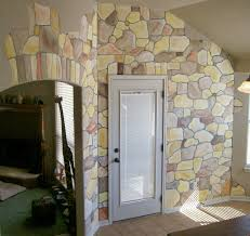 effect children s wallpaper door and wall stickers wallpaper wall mural ideas stone pattern by homecaprice with images of wall murals