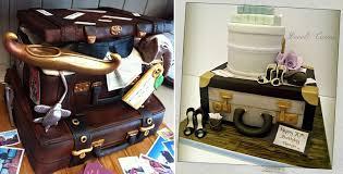 wedding cake exeter suitcase cakes vintage style cake magazine