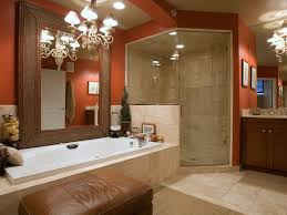 Bathroom Ottoman Bathroom Brown Bathroom Color Trends With Glass Door