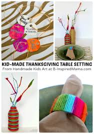 thanksgiving crafts for a diy table setting b inspired