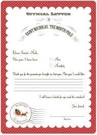 25 christmas letter template ideas santa