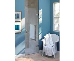 Majestic Shower Doors Maine Frameless Alcove Shower Screen With Hinged Door Majestic