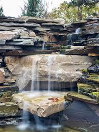 Waterfall For Backyard by Manmade Waterfall Houzz