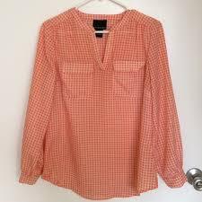 cynthia rowley blouse 60 cynthia rowley tops cynthia rowley sleeve orange