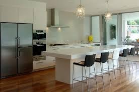 Kitchen Island Wall Black And White Wall Decor Gray Kitchen Cabinet Blue Ceramic Tile