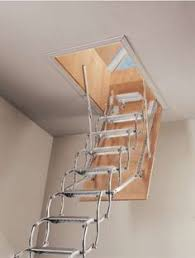 pull down attic stairs like these but the bottom painted to