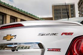 2014 chevrolet sonic rs sedan first test motor trend