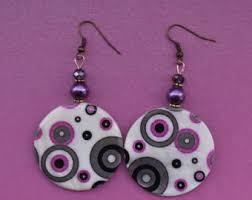 70 s earrings 70s jewelry etsy