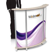 Mini Reception Desk Trade Show Portable Mini Reception Desk Reception Desks And Desks