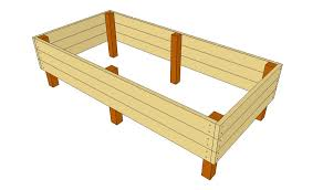 How To Build A Large Raised Garden Bed - elevated garden beds on legs building raised garden beds with
