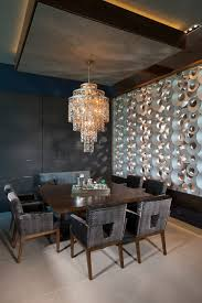 modern dining room wall art dining room modern with limestone tile