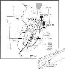 Kentucky Time Zone Map by Interpreting The Earthquake Source Of The Wabash Valley Seismic
