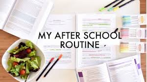 after school study my after school study routine