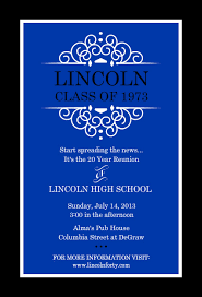 high school reunion invitations wording for class reunion invitations career catalog