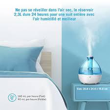 air sec dans une chambre taotronics humidificateur d air humidificateur bébé silencieux