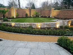 multi level garden design foxrock landart