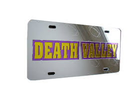 lsu alumni license plate lsu auto accessories page 4 purple and gold sports