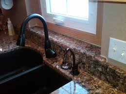 Pictures Of Kitchen Faucets Kitchen Faucet On Granite Countertops Kitchens Baths Contractor
