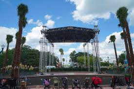 Space Stage Studios by Photos Center Stage Area Taking Shape At Disney U0027s Hollywood Studios
