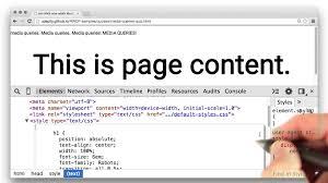 html tutorial udacity fun with media queries quiz responsive web design fundamentals