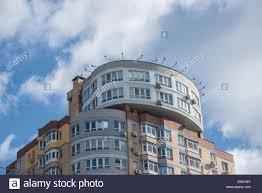 apartment house in kiev ukraine stock photo royalty free image