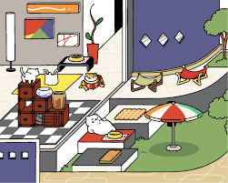 culturalconstruct cat blogging the sims neko atsume and