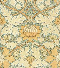 william morris growing damask wallpaper peacoquettedesigns