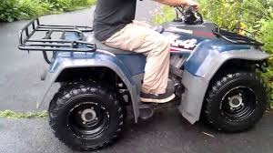 1993 kawasaki bayou 400 4x4 liquid cooled atv for sale youtube