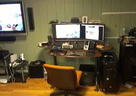 desk amazing gaming desk setup mac setup desk tour apple desk