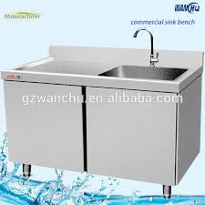 Metal Kitchen Sink Base Cabinet Stainless Steel Kitchen Sink Cabinet Nice Inside Kitchen Home