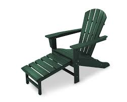 Recycled Adirondack Chairs Foldable Adirondack Chair With Pull Out Ottoman
