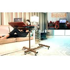 rolling adjustable bedside table rolling table over bed desk over bed home rolling adjustable