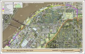 Flood Plain Map Fraser River Floodplain City Of Surrey