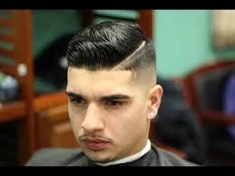 skin fade comb over hairstyle skin fade comb over styled with layrite pomade youtube