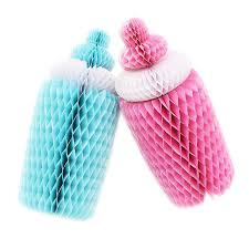 baby bottle centerpieces big 1pc pink blue honeycomb baby bottle nursing bottle