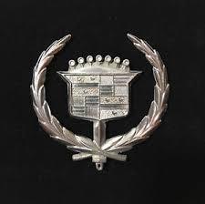 cadillac ornament emblem chrome ebay