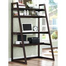 Ladder Bookcase Desk Combo Desk An Error Occurred White Leaning Ladder Shelf With Desk 92
