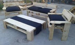 Palet Patio Pallet Patio Seating Furniture Set 99 Pallets