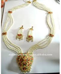 pearls necklace sets images Pearl necklace set raani haar with earring indian jewellery jpg