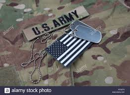 Uniform Flag Patch American Military Flag Patch On Stock Photos U0026 American Military