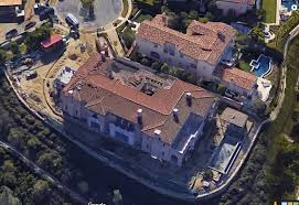 the dubrow house from google earth bravorealhousewives