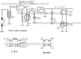 110cc basic wiring setup atvconnection com atv enthusiast community