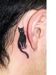 tattoo ideas face neck head ears tatring