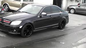 the all mercedes c class 877 544 8473 kmc km691 spin all black wheels 2010 mercedes c class